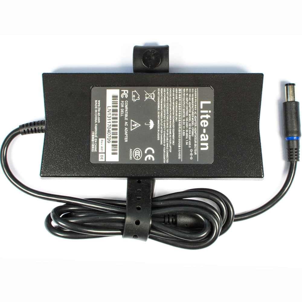 Lite-an 19.5V 4.62A 90W Slim Power Adapter For Dell PA3E