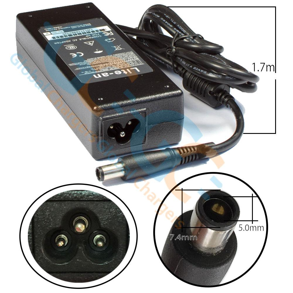Lite-an 19V 4.7A 90W Power Adapter For HP - globalchargers-com