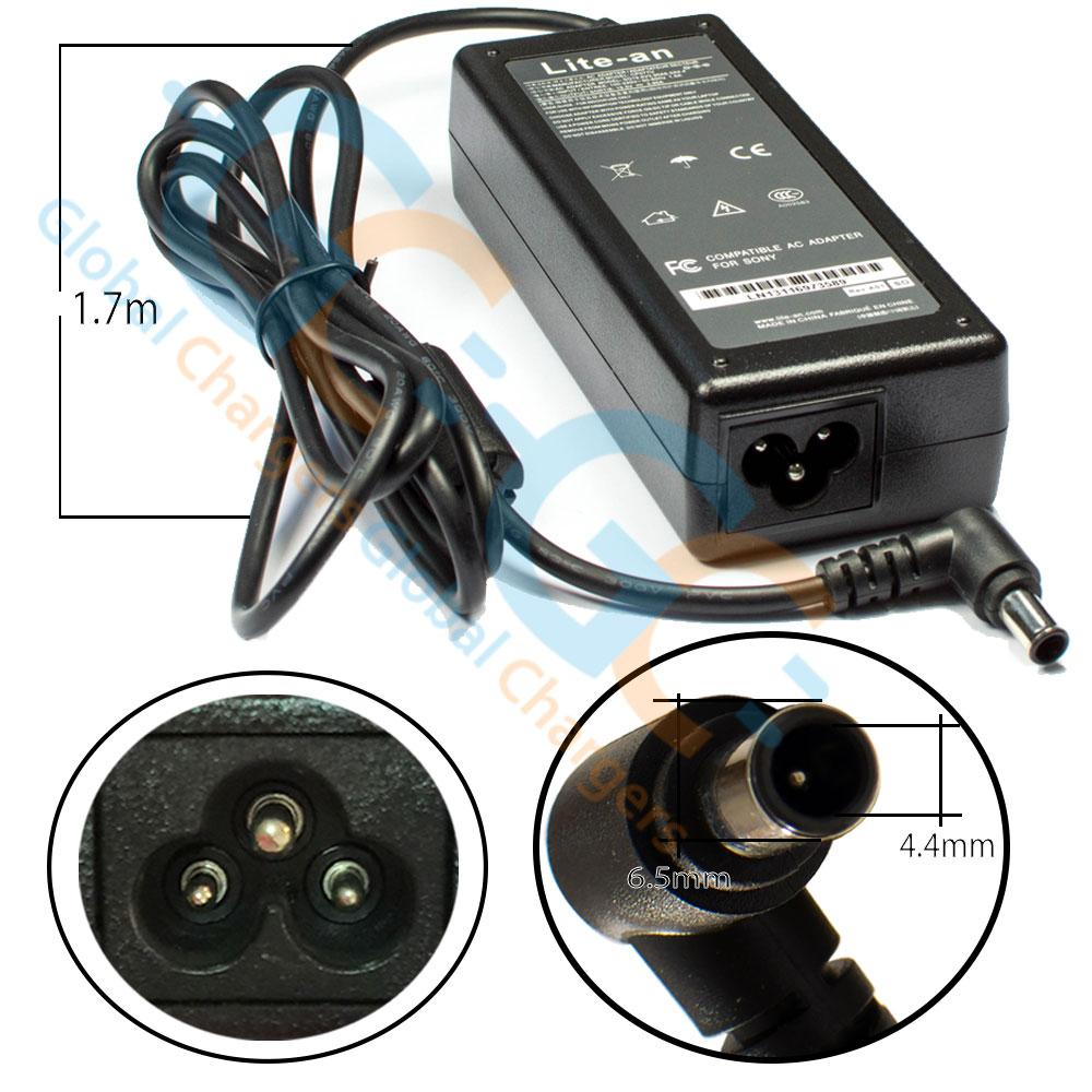 Lite-an 19.5V 3.9A 75W Power Adapter For Sony - globalchargers-com