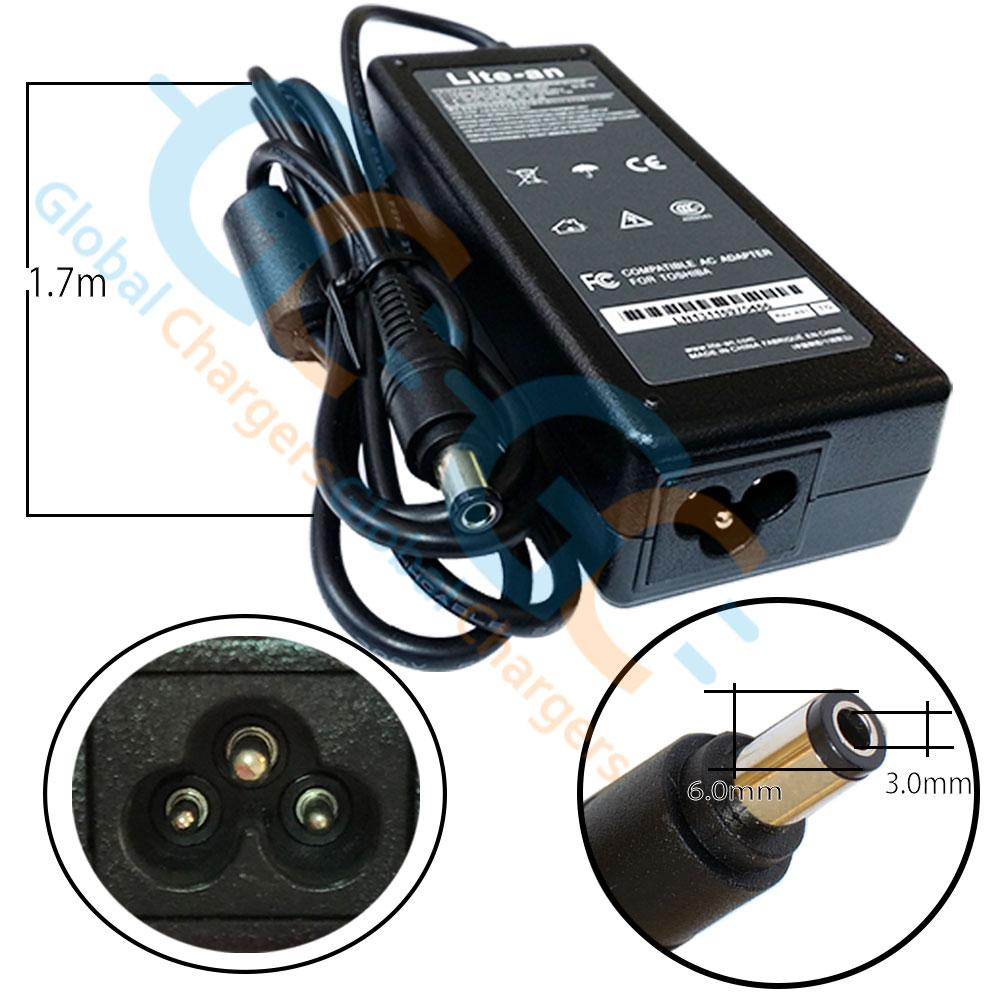 Lite-an 15V 5A 75W Power Adapter For Toshiba - globalchargers-com
