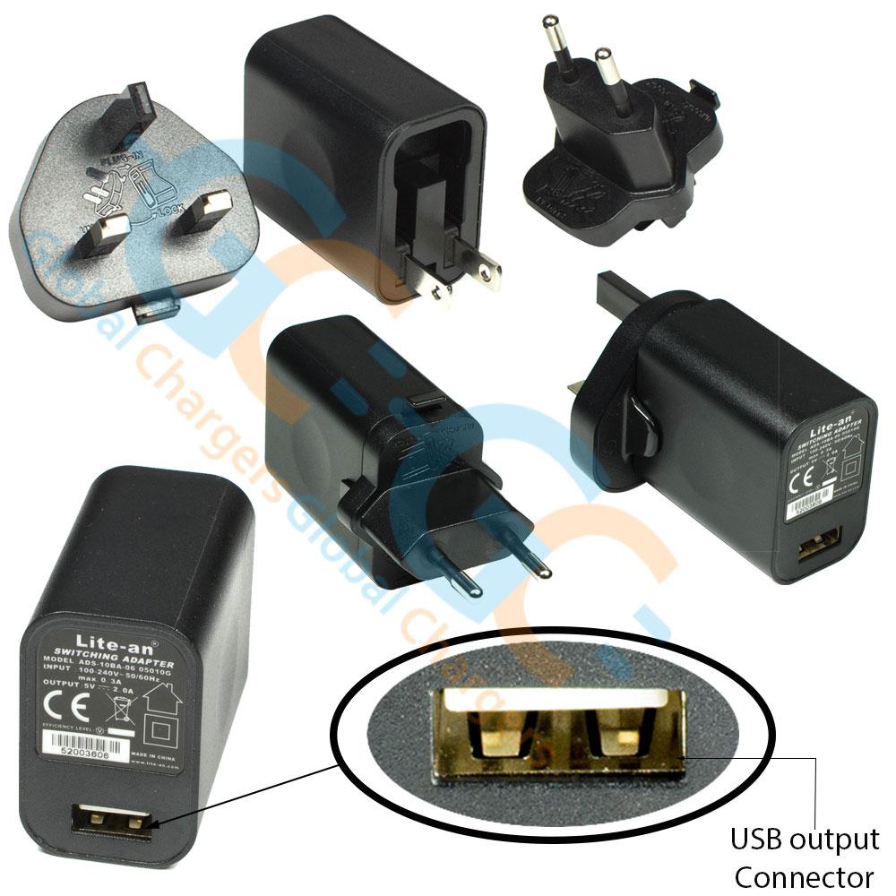 ZTE R221 Phone AC Adapter Charger
