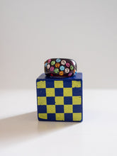 Load image into Gallery viewer, Deadstock/Vintage Rainbow Swarovski Crystal Ring - Noir (2)