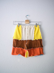 NO. 6.1, S - Reworked Terry Knit Shorts