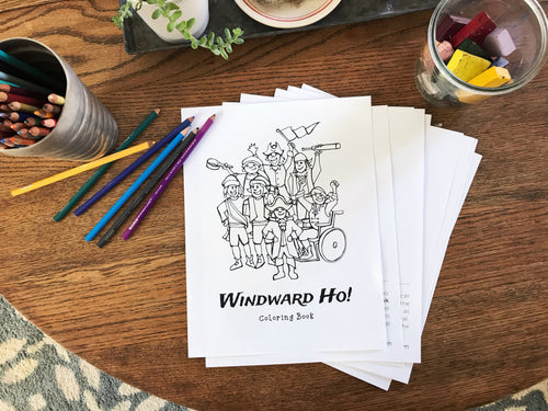 Windward Ho! Printable Coloring Book