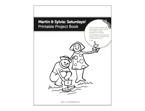 Martin & Sylvia: Saturdays! Project Pages