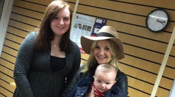 Hand on Heart is surprised by Helen Skelton