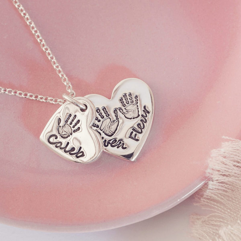 Handprint Necklace