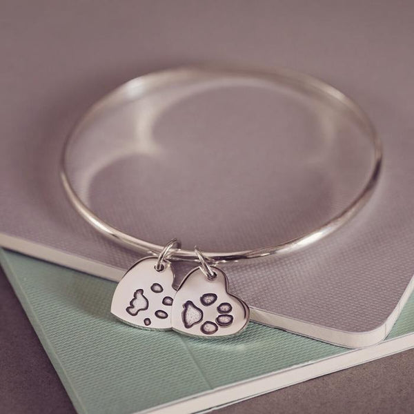 Pawprint Bangle