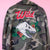 Chainstitch Embroidery Embroidered Daily Disco Jacket Skull Flowers Camo Dinosaur