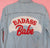 Bad Ass Babe Chainstitch Embroidery Embroidered Daily Disco Jacket