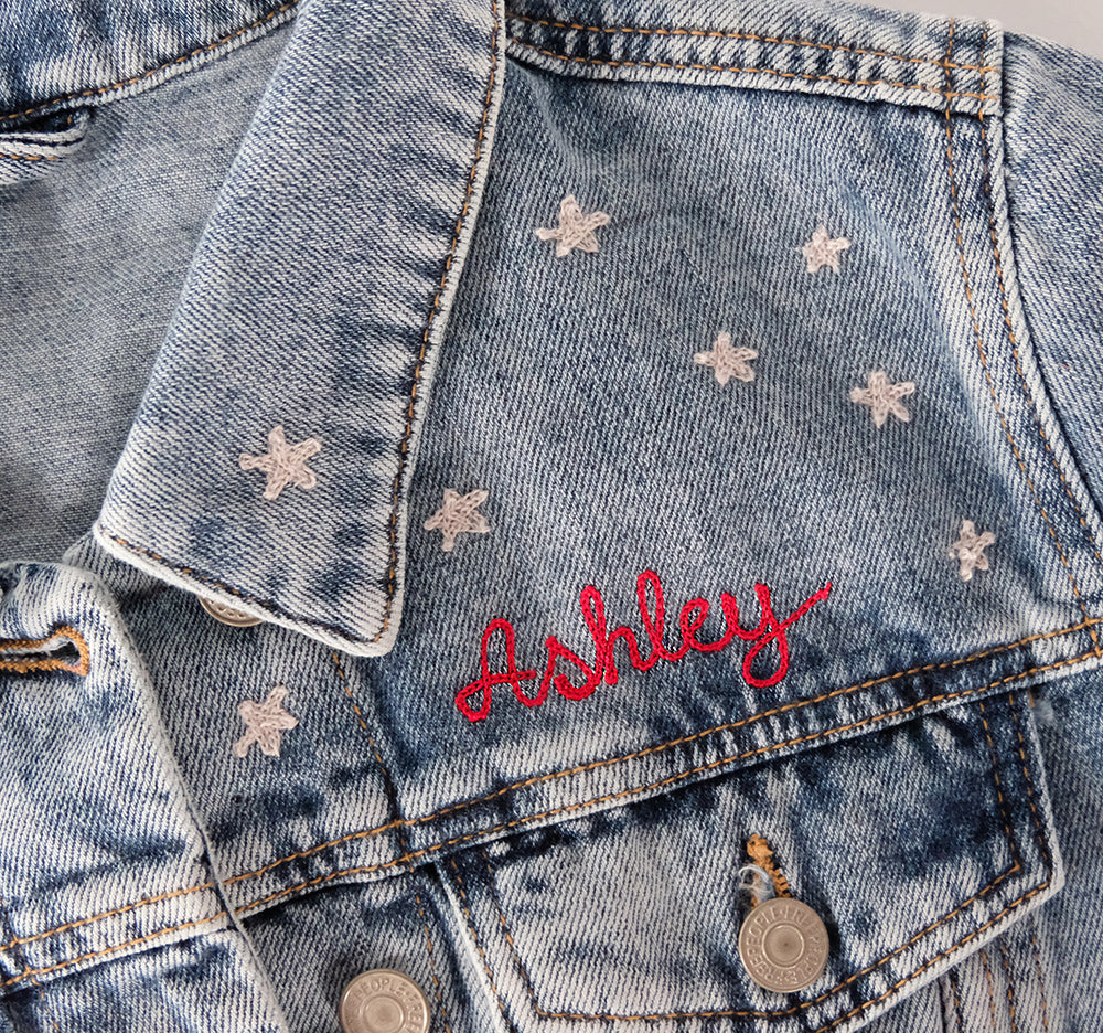 Small Name Embroidery - Daily Disco
