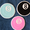 Eight Ball Chainstitch Embroidered Patch - Abbey Eilermann