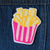 French Fry Chainstitch Embroidered Patch - Abbey Eilermann