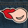 Bubblegum Chainstitch Embroidered Patch - Daily Disco