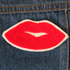 Kiss Chainstitch Embroidered Patch - Daily Disco