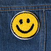 Smiley Chenille Chainstitch Embroidered Patch - Daily Disco