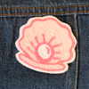 Shell Chainstitch Embroidered Patch - Daily Disco