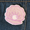 Shell Chainstitch Embroidered Patch - Abbey Eilermann