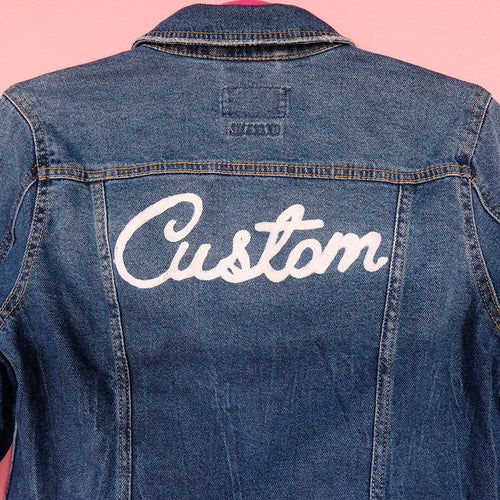 Custom Word Chainstitch Embroidery - Daily Disco