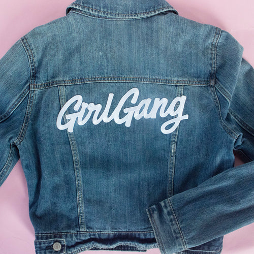 Girl Gang Iron on Patch - Abbey Eilermann