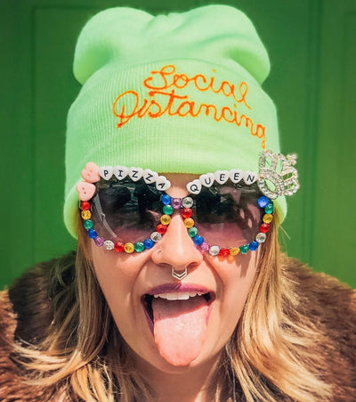 Personalized Embroidered Beanie - Daily Disco