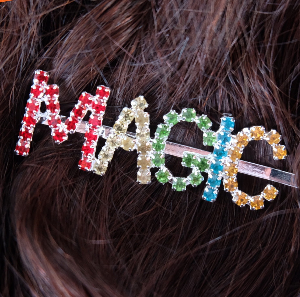 Magic Rhinestone Hair Pin - Daily Disco