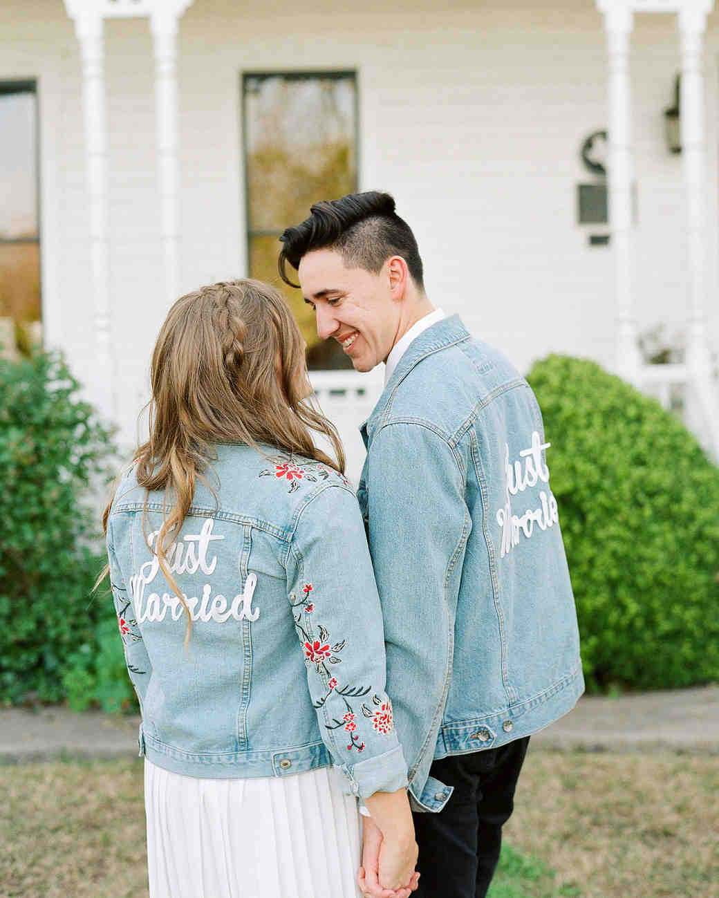 Just Married Iron On Patch - Daily Disco