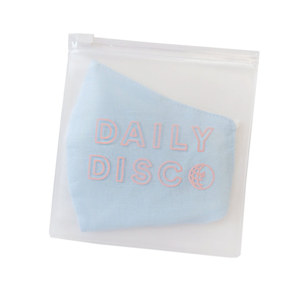 Small Frosted Zip Pouch - Daily Disco
