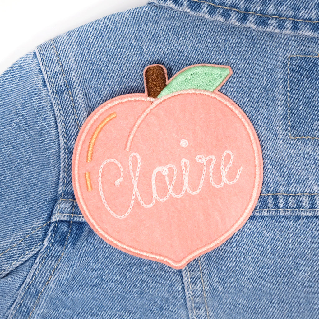 Custom Peach Patch