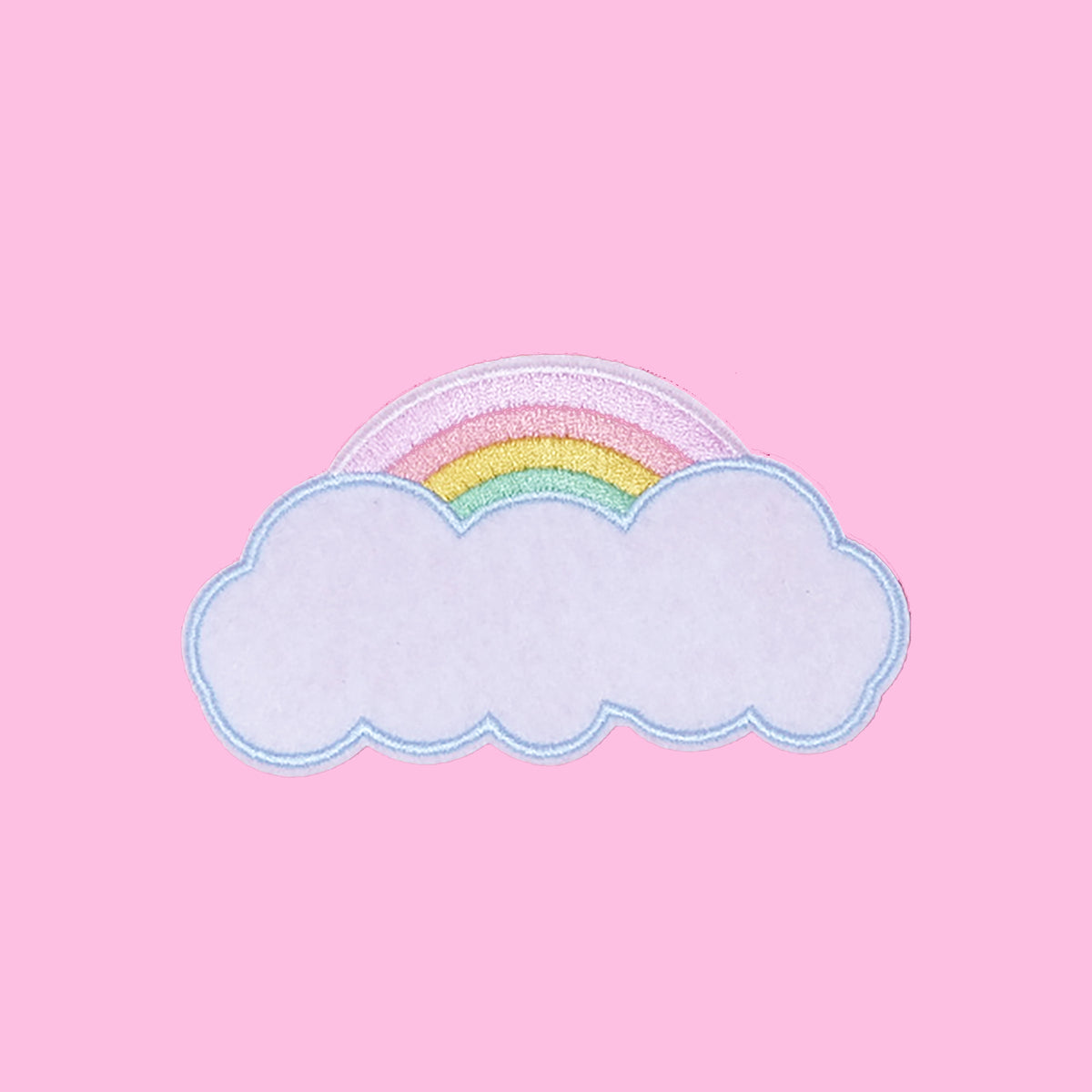 Custom Pastel Rainbow Patch