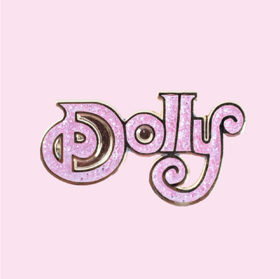 Dolly Parton Pink Pin - Daily Disco