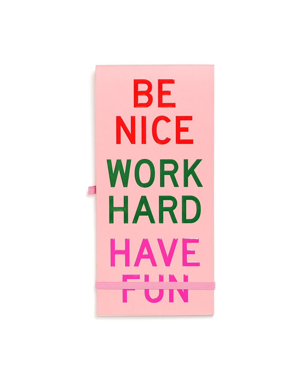 Work Hard Reporter Pad - Daily Disco