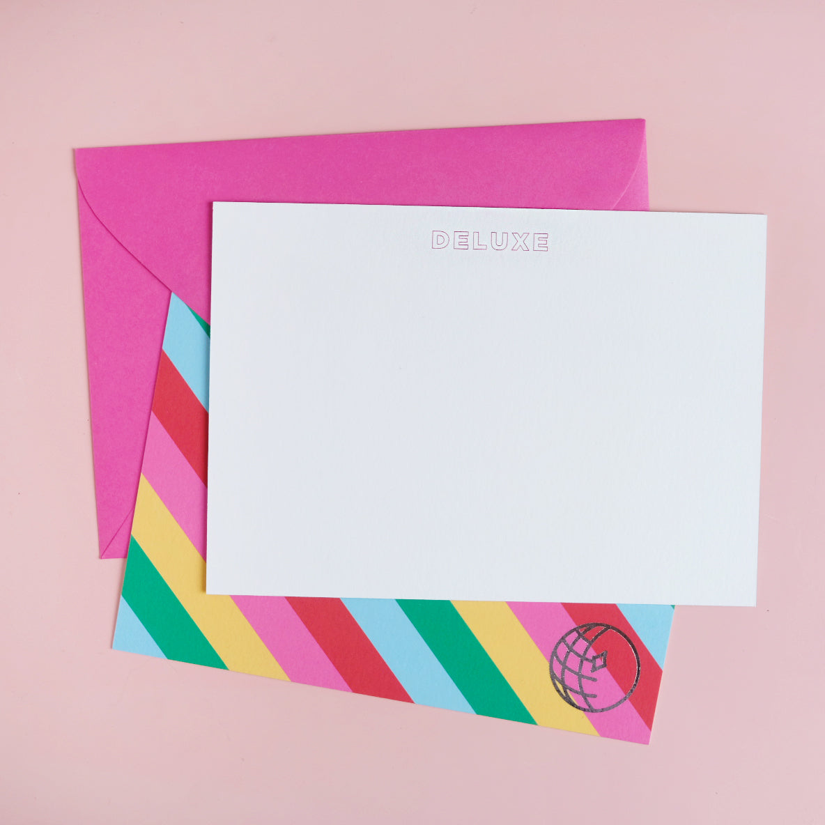 Rainbow Disco-ism Notecards