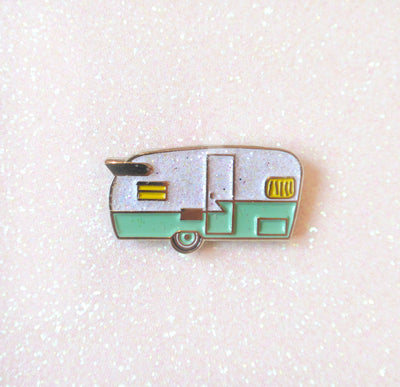Camper Enamel Pin - Daily Disco