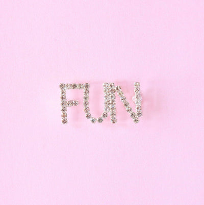 FUN Rhinestone Pin - Daily Disco