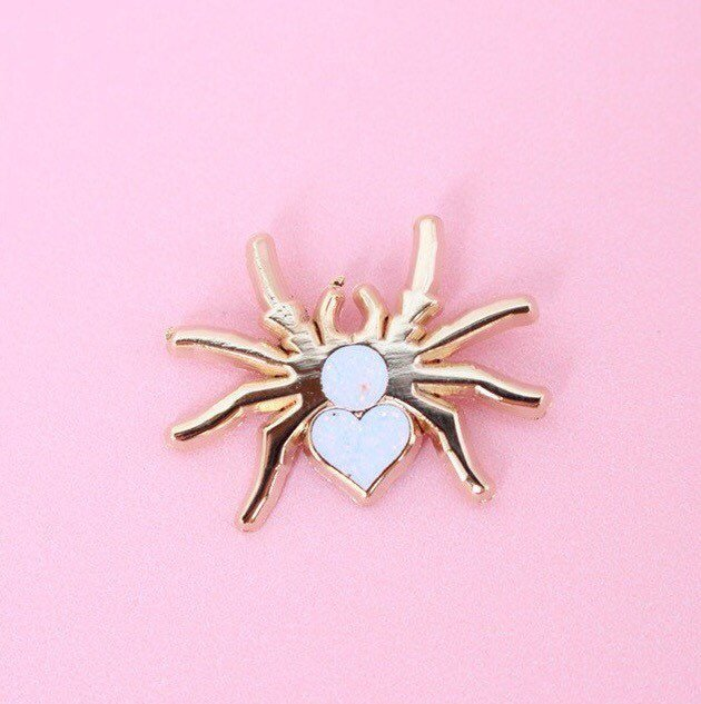 Itsby Bitsy Spider Pin - Abbey Eilermann