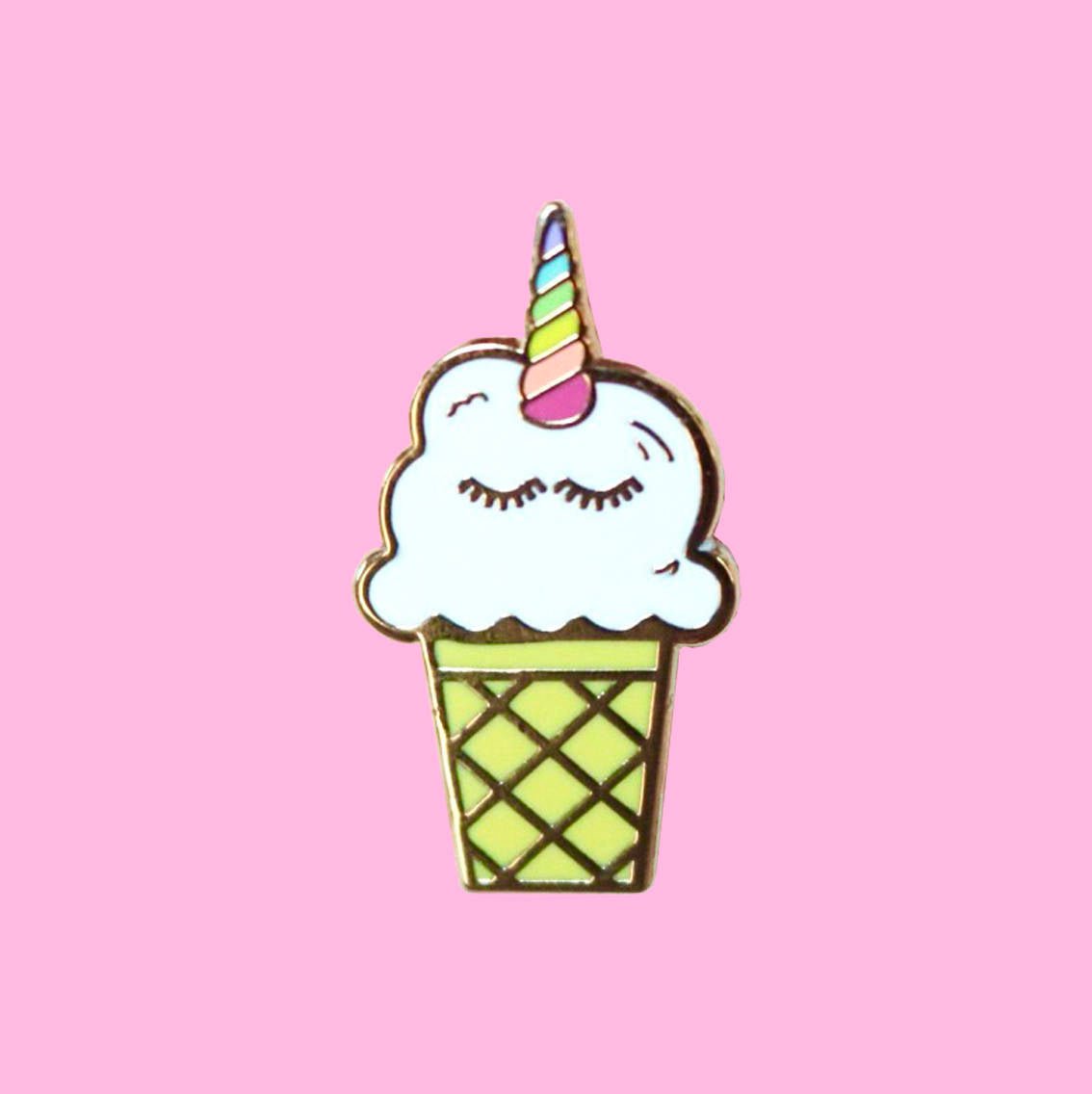 Unicorn Ice Cream Pin - Daily Disco