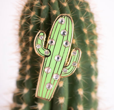 Cactus Gem Pin - Daily Disco