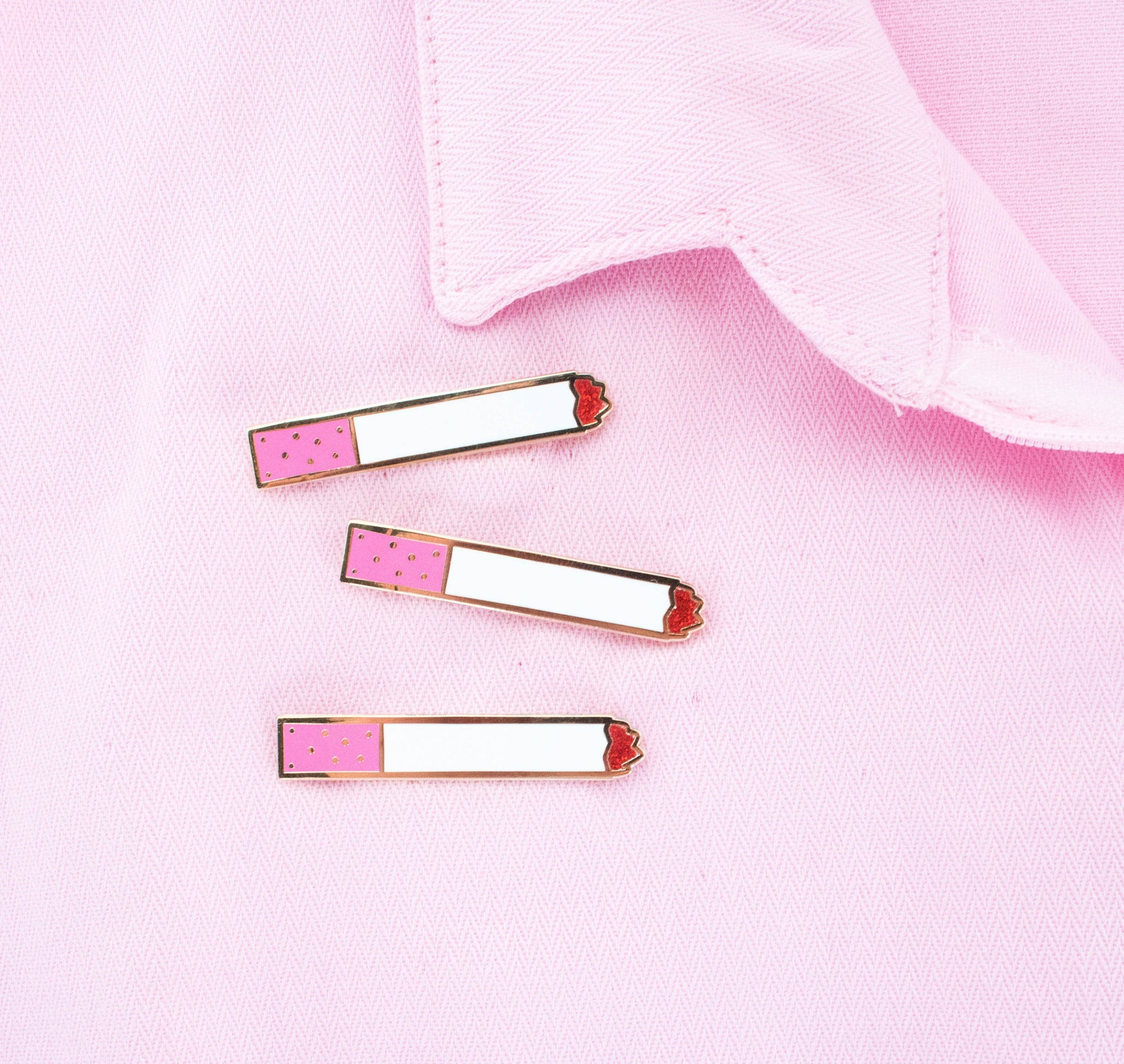 Pink Cigarette Pin - Abbey Eilermann