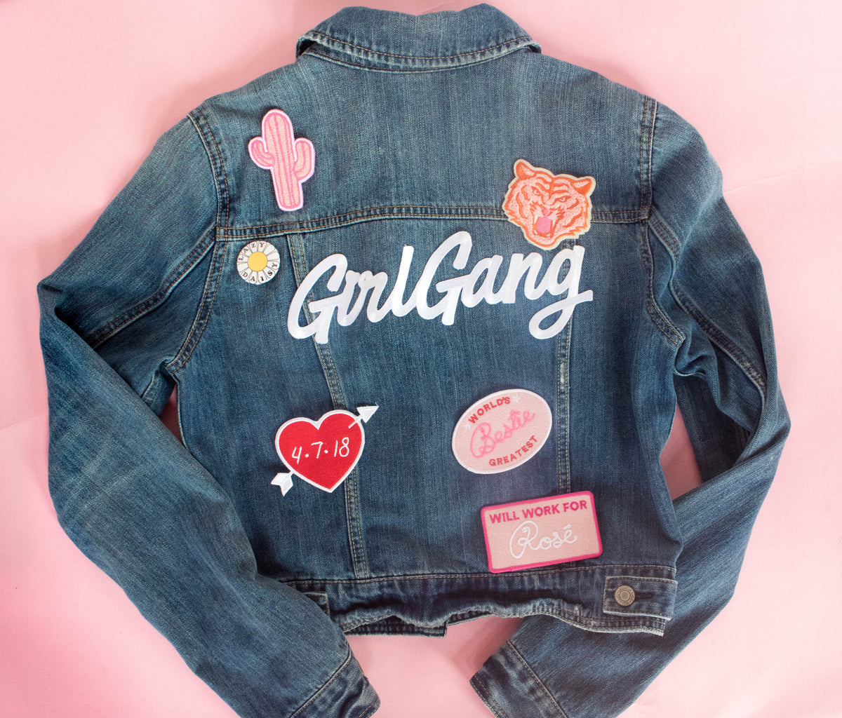 Girl Gang Patch - Daily Disco