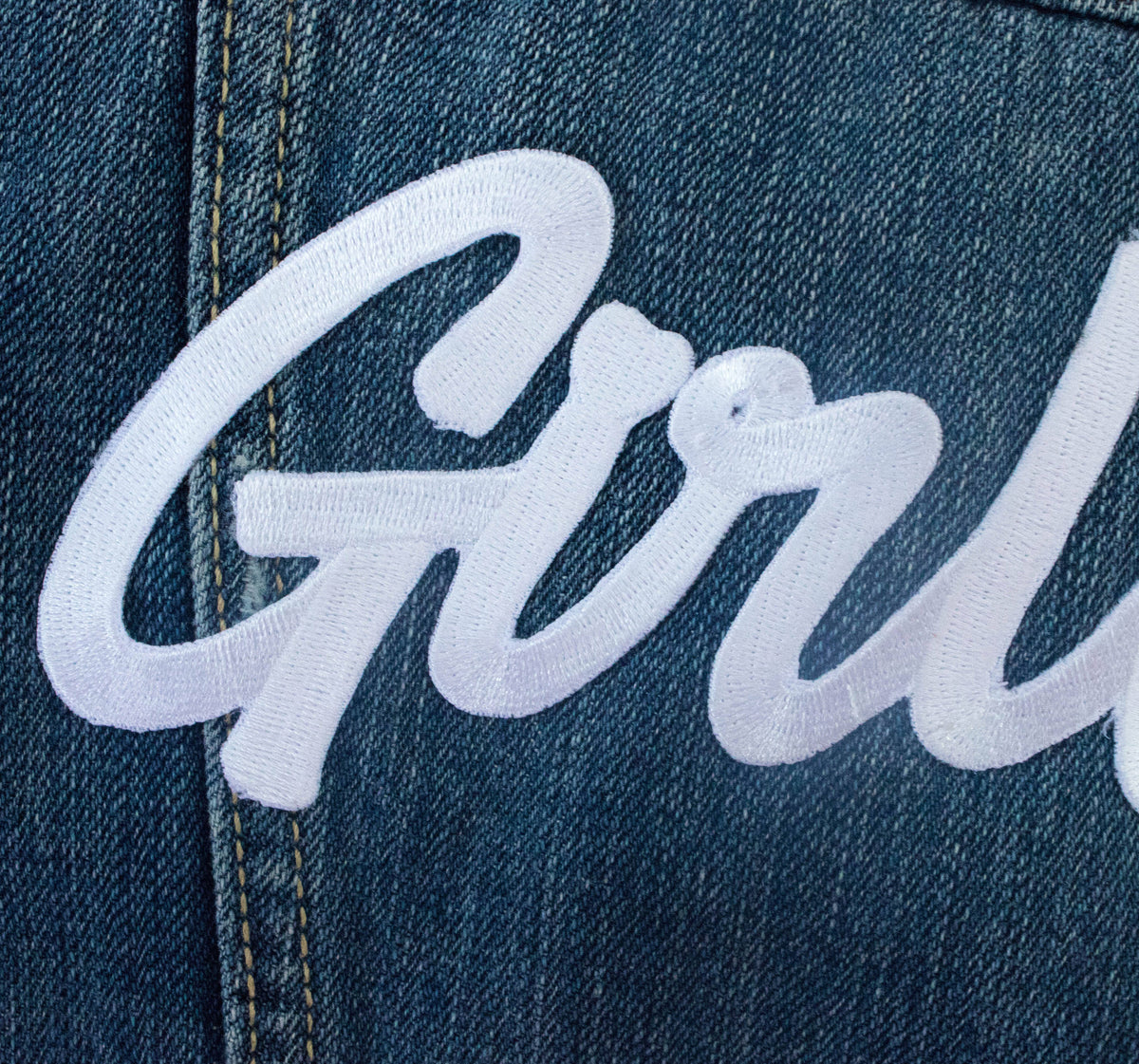 Girl Gang Iron on Patch - Daily Disco