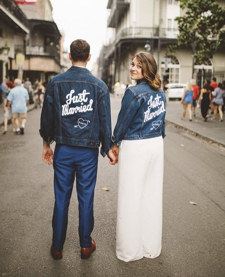 Just Married Wedding Patch - Daily Disco