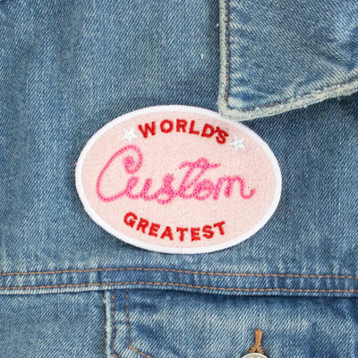 Custom World's Greatest Patch - Daily Disco