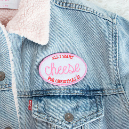 Custom All I want for Christmas Patch - Abbey Eilermann