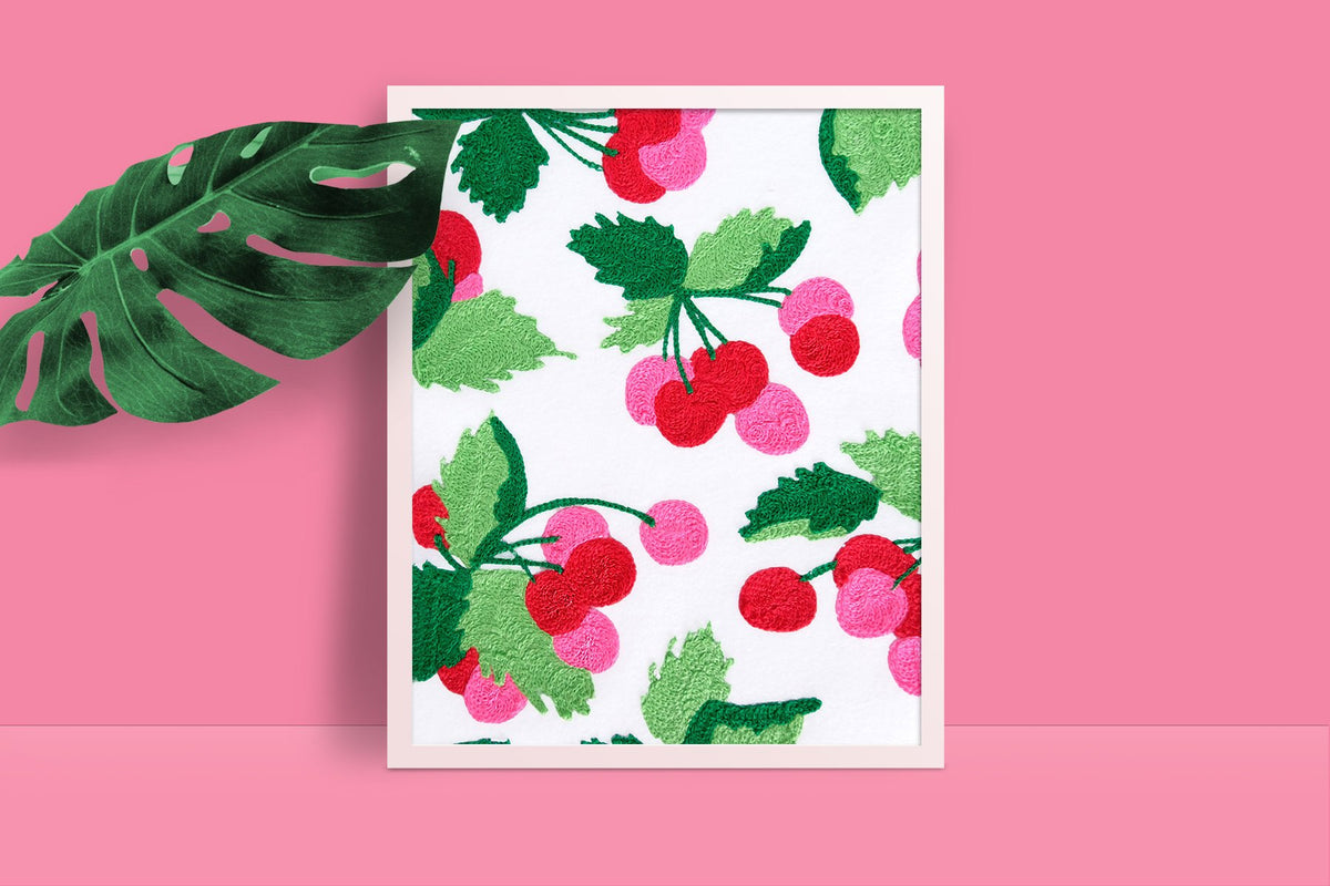 Cherry Art Print - Daily Disco