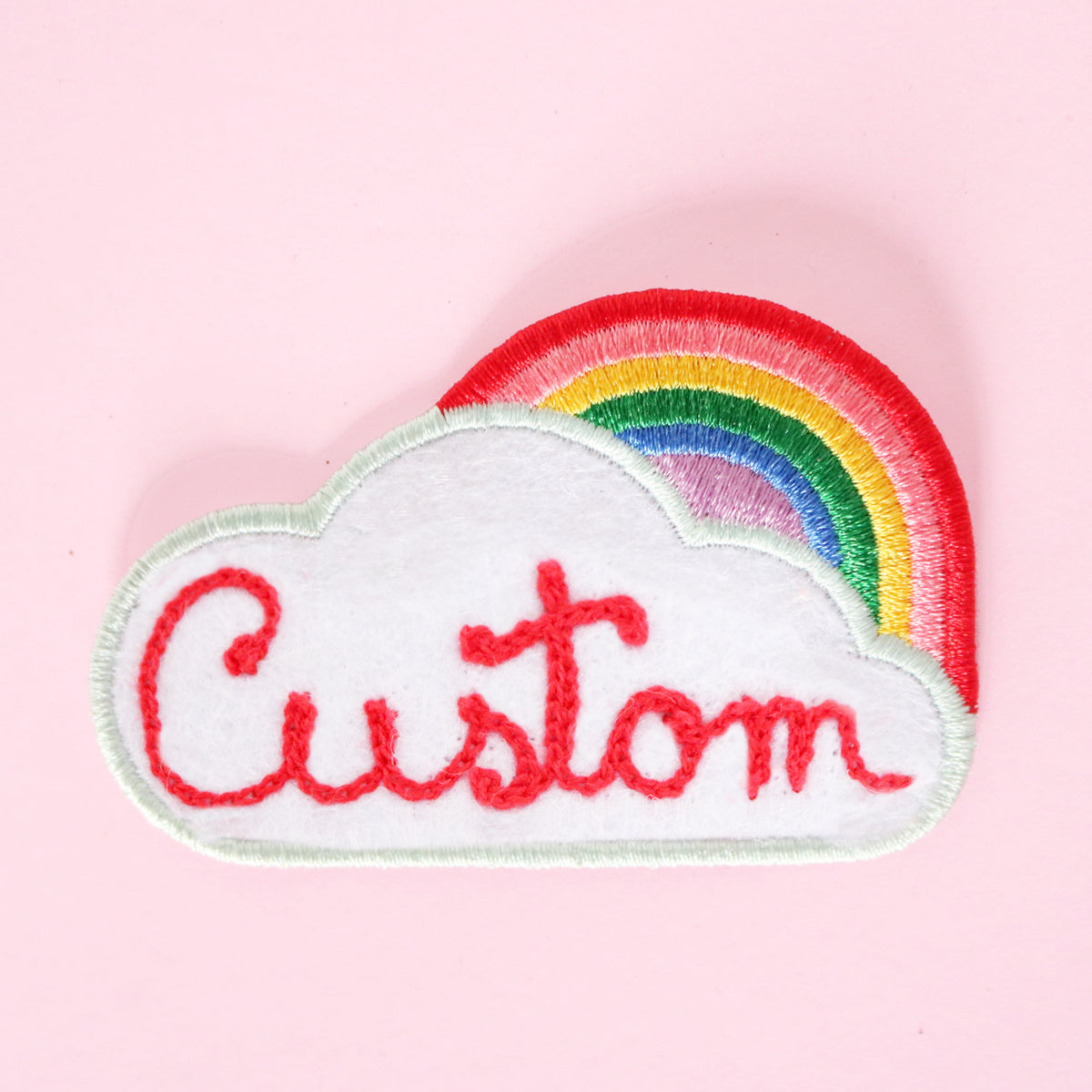 Custom Rainbow Patch - Daily Disco