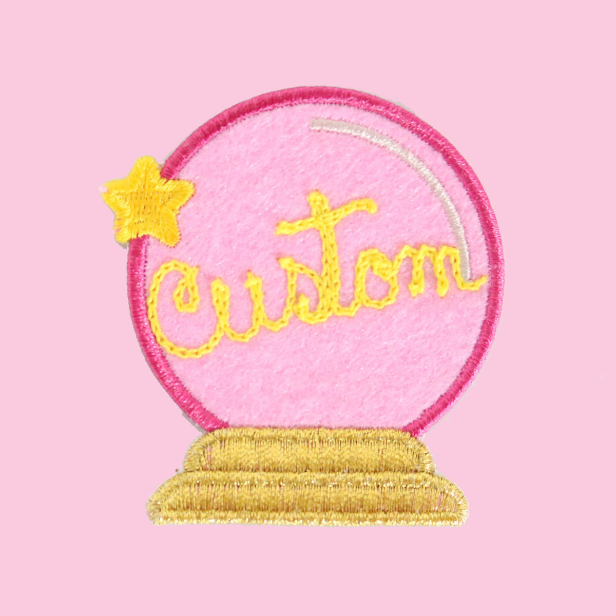Custom Crystal Ball Patch - Daily Disco