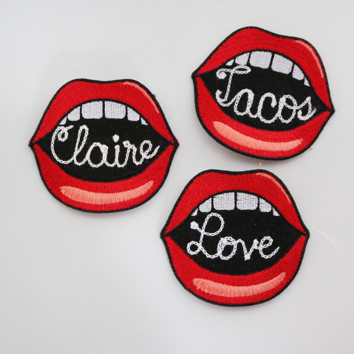 Custom Mouth Patch - Abbey Eilermann