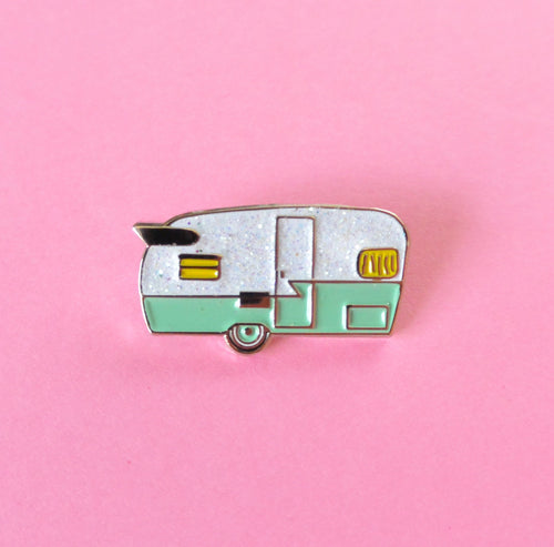 Camper Enamel Pin - Abbey Eilermann