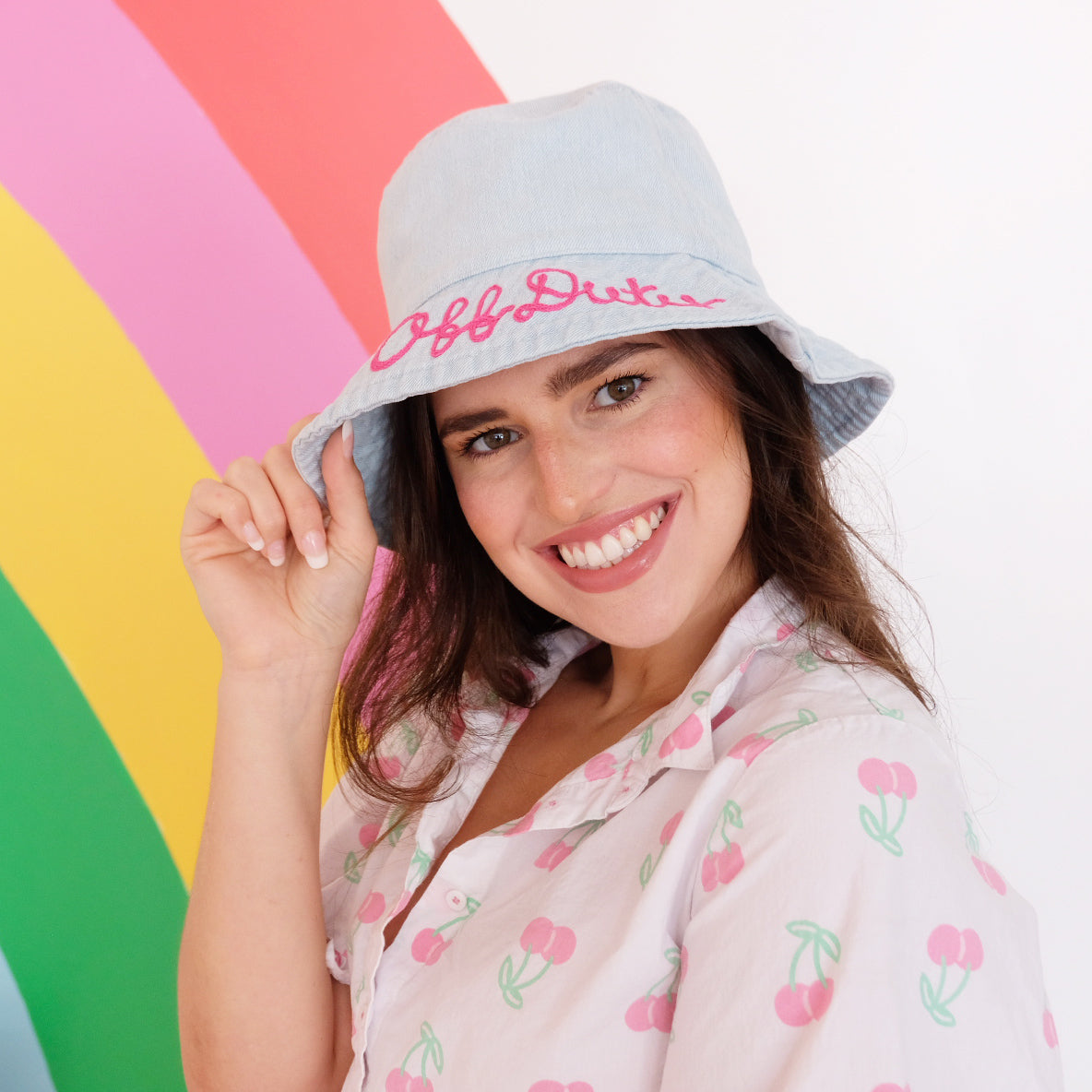 Customizable Denim Bucket Hat - Daily Disco